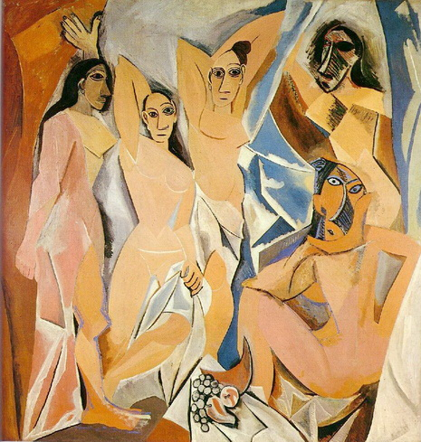 ภาพจิตรกรรม Les Demoiselles d'Avignon